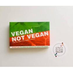 Jeu de cartes (Vegan Pas...