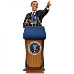 Carte postale /Barak Obama