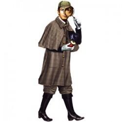 Carte postale /Sherlock Holmes