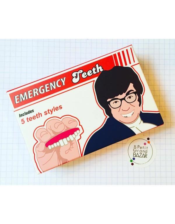 Dentiers d'urgence