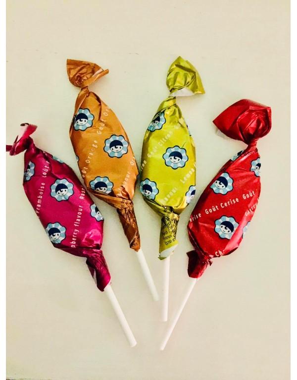 Sucette fruits   /Pierrot...