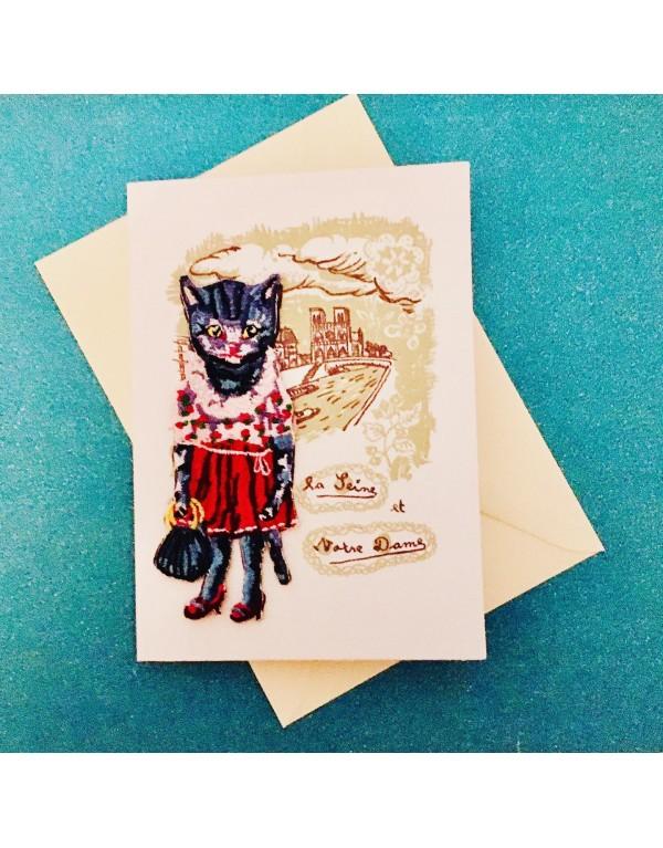 Carte postale , écusson...