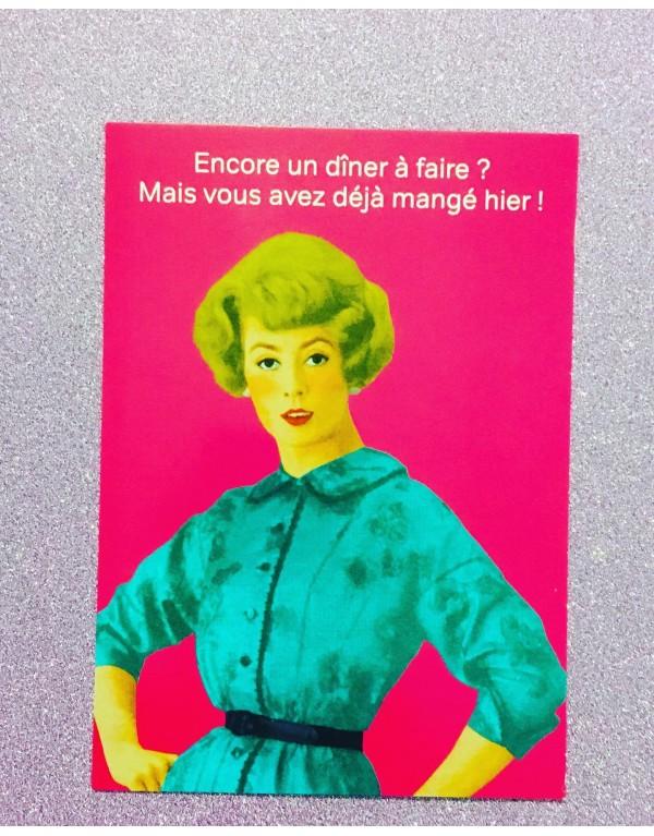 Carte postale vintage pop/...