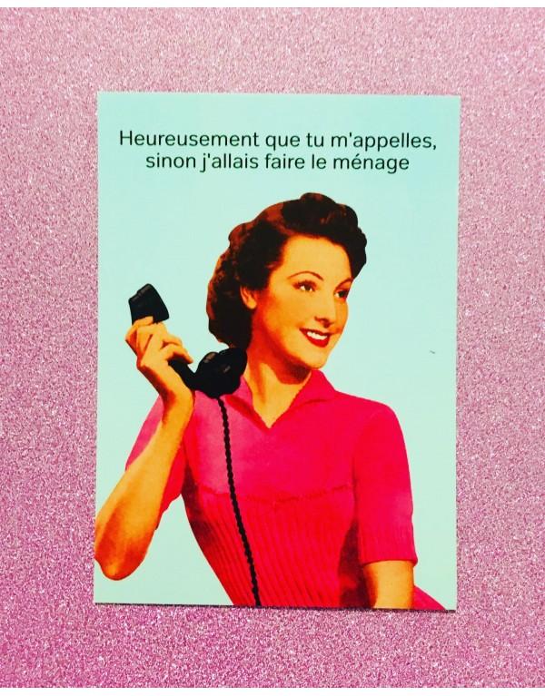 Carte postale vintage pop /...