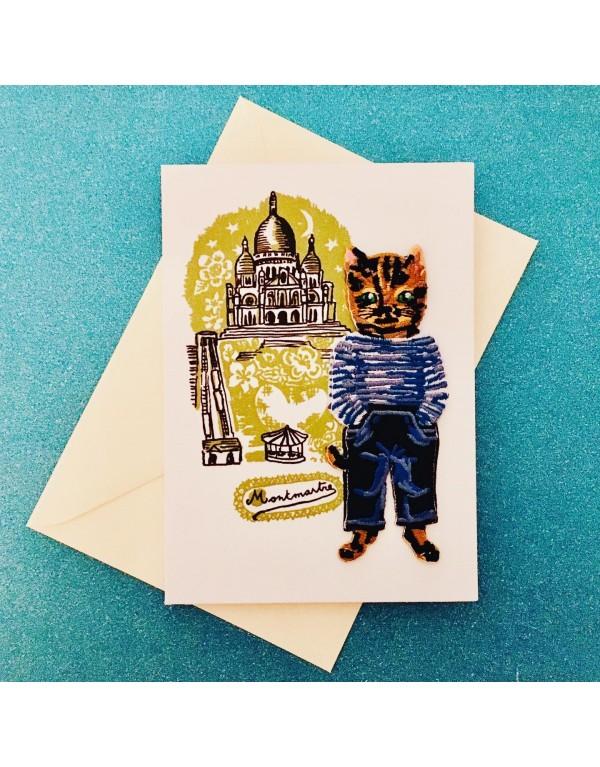 Carte postale ,écusson...