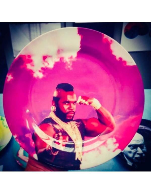 Assiette porcelaine : Mister T