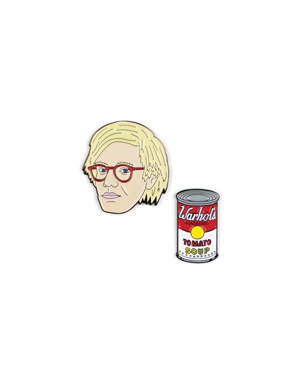 Pins/  Andy Warhol