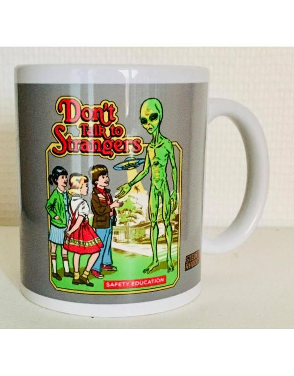 Mug / Dont talk to strangers
