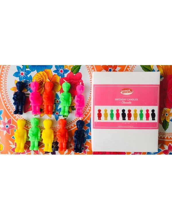 Bougies / Mini Clonnettes