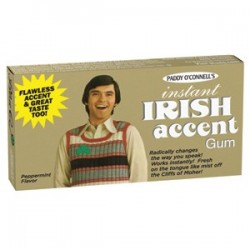 """Chewing gum /""""Instant Irish..."""