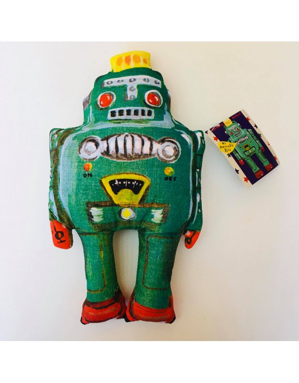 """Coussin """" Robot"""" : Robbie"""