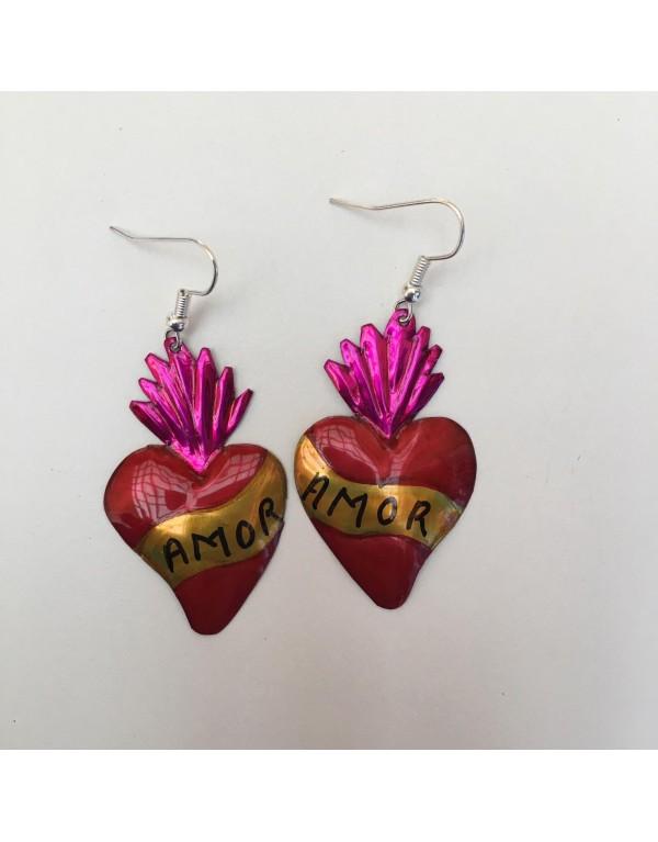 Boucles d'oreilles / Amor