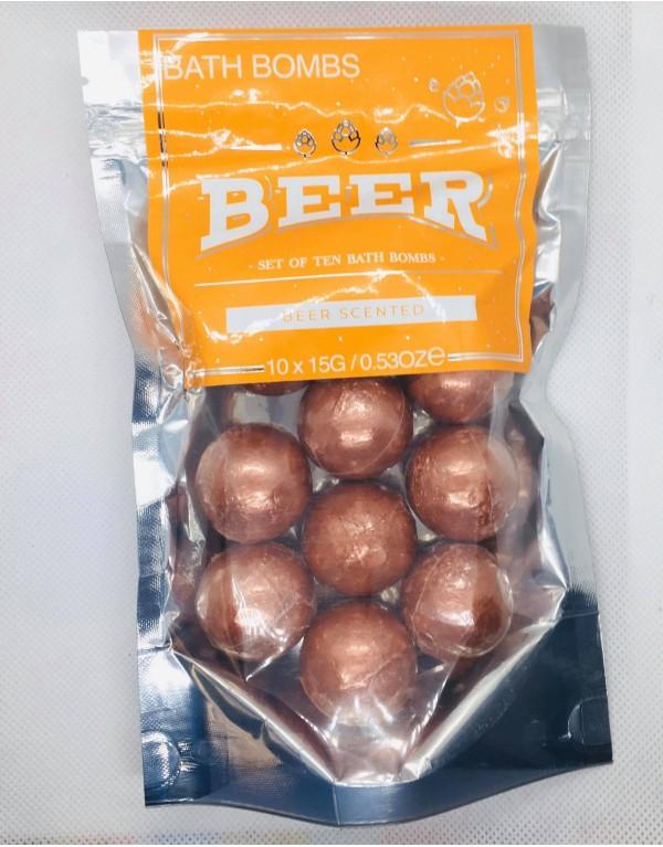 Perles de bain /Bière