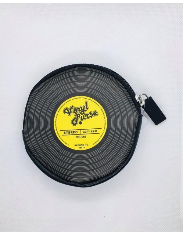 Porte monnaie / Vinyle (jaune)
